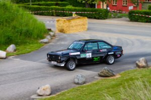 Motorsportshop rallysprint fotografering