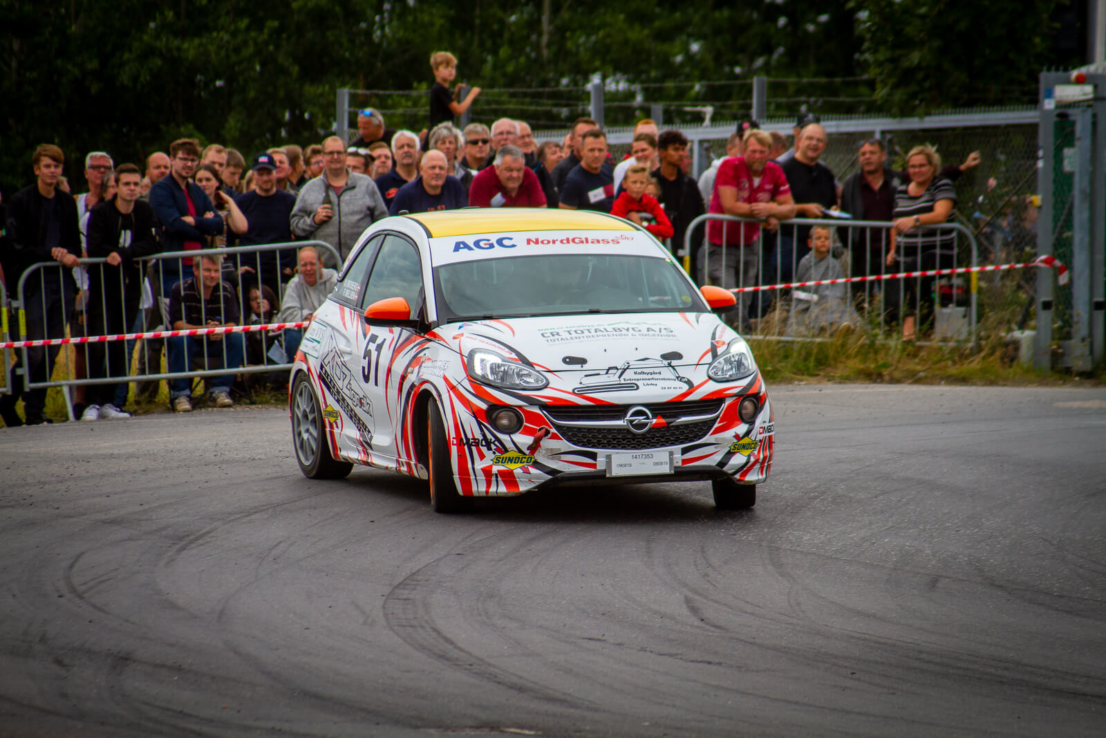 Opel adam cup foto